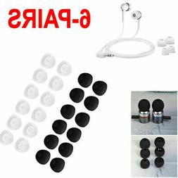 6 Pairs Earbud Cushion Replacement Headphone Ear Pads Gel Co