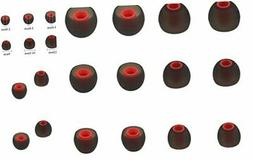 ALXCD Ear Tips for SENSO Headphones, S/M/L 3 Sizes 6 Pairs R