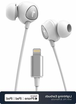 Lightning Headphones for iPhone 11 Apple Certified Cable Wit