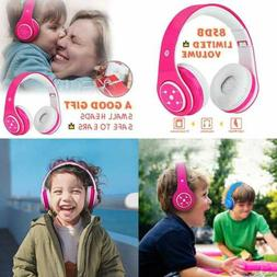 Kids Headphones Bluetooth Wireless Over Ear Headset For Chil