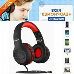 Mpow Kids Headphones Hearing Protection Wired On-Ear Headset