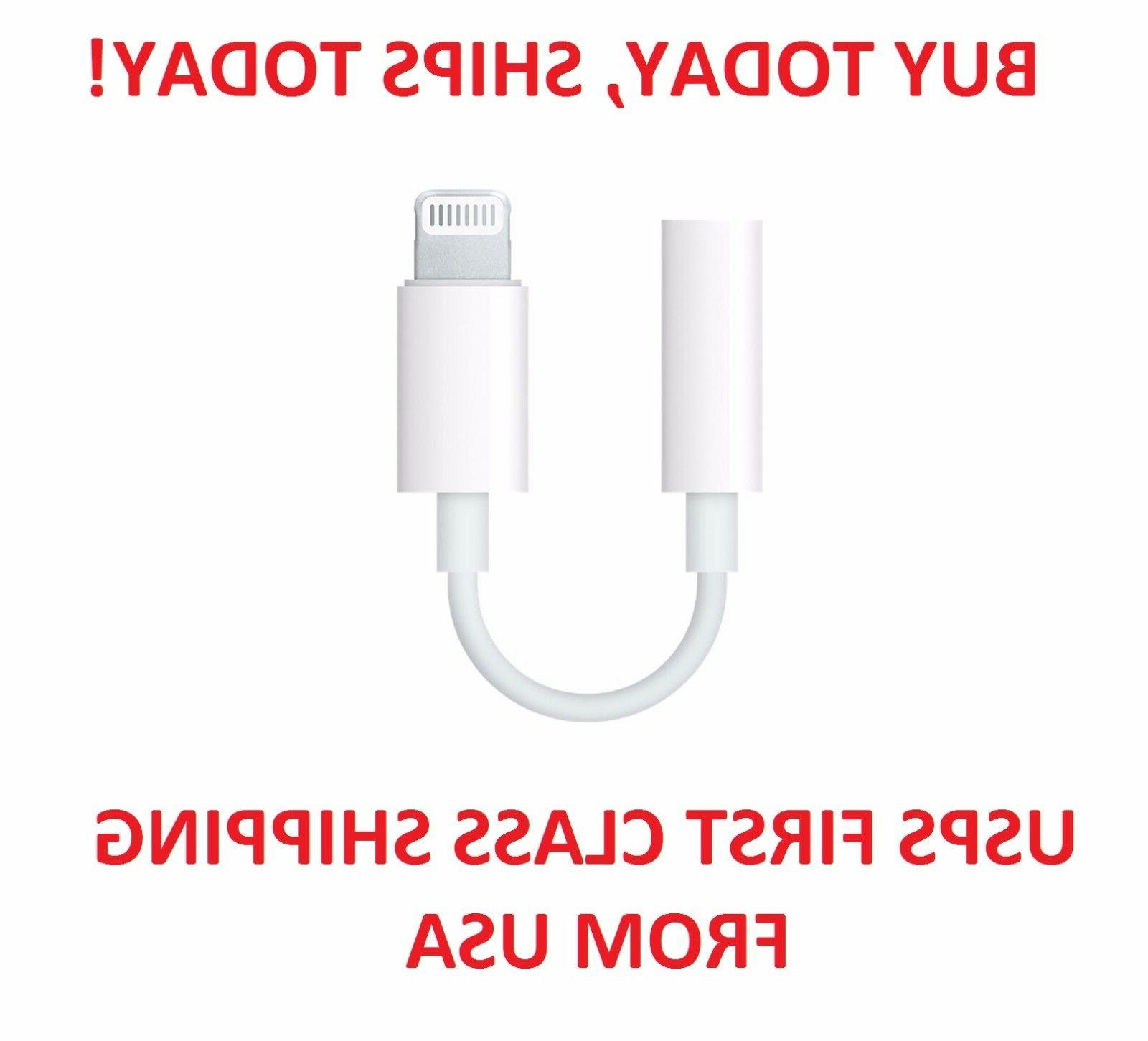 A174 Lightning 3.5mm Headphone Jack Adapter Cable For Apple Plus