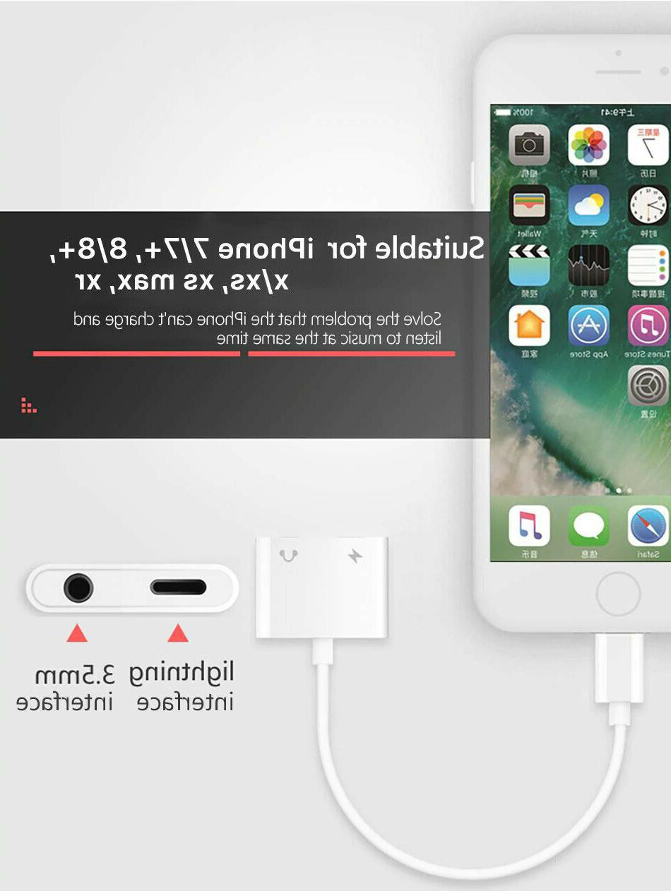 Apple to AUX Headphone Cable splitter