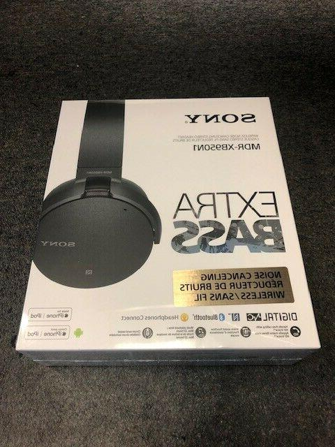 brand new mdr xb950n1 extra bass noise