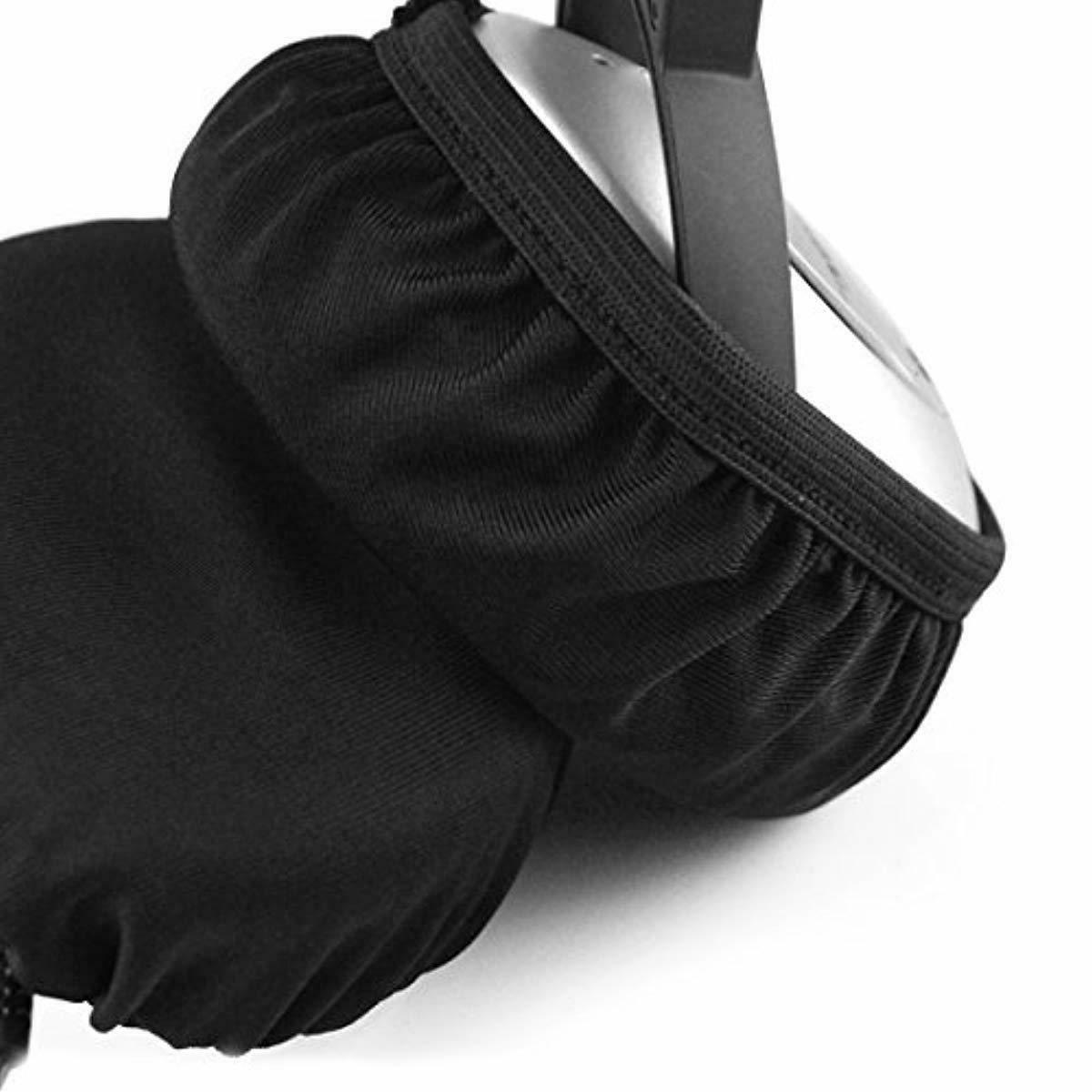 Geekria Flex Fabric Earpad Covers/Stretchable and Washable Sanitary