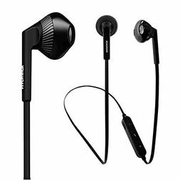 Magnavox MBH539BK Shuffle Wireless Earbuds with Bluetooth -
