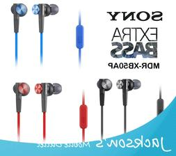 Sony MDR-XB50AP  EXTRA BASS X-BASS Headphones with MIC, Blue