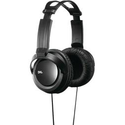 over ear headphones, wired, comfortable long listening, JVC