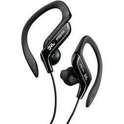 JVC Sport Clip Design Stereo Wired Earclip Headphone in Blac