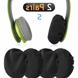 Stretchable Fabric Headphones Covers / Washable Sanitary Ear