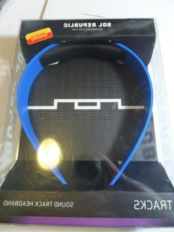SOL Republic V8 Headphone Band- BLUE - New In Box Bands are