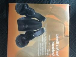 Wireless 900 MHz Headphones Twin Pack Excellent Choice for T