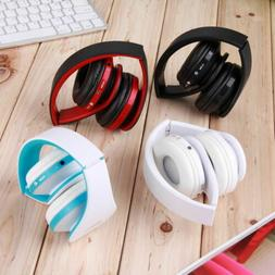 Wireless Bluetooth USB Noise Cancelling Stereo Sports Foldab