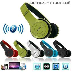 Wireless Headphones Bluetooth Over Ear Foldable Stereo Noise