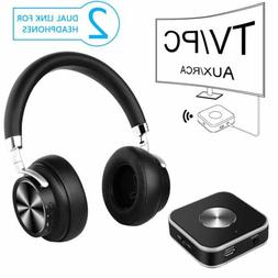 Wireless TV Headphones with Bluetooth Transmitter for Watchi