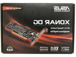 ASUS Xonar DG PCI 5.1 Sound Card & Headphone Amplifier